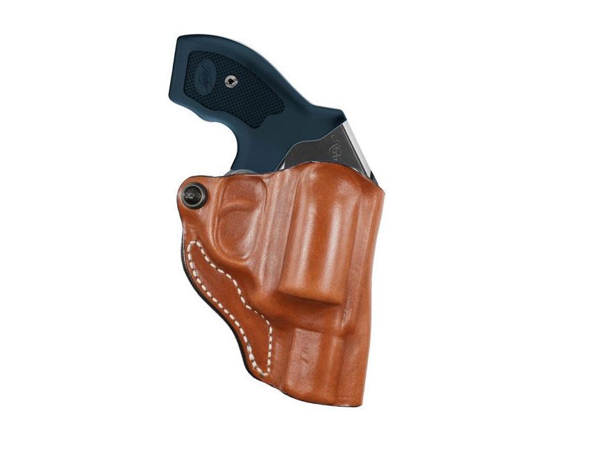 DeSantis Mini Scabbard Belt Holster Kimber K6S Leather