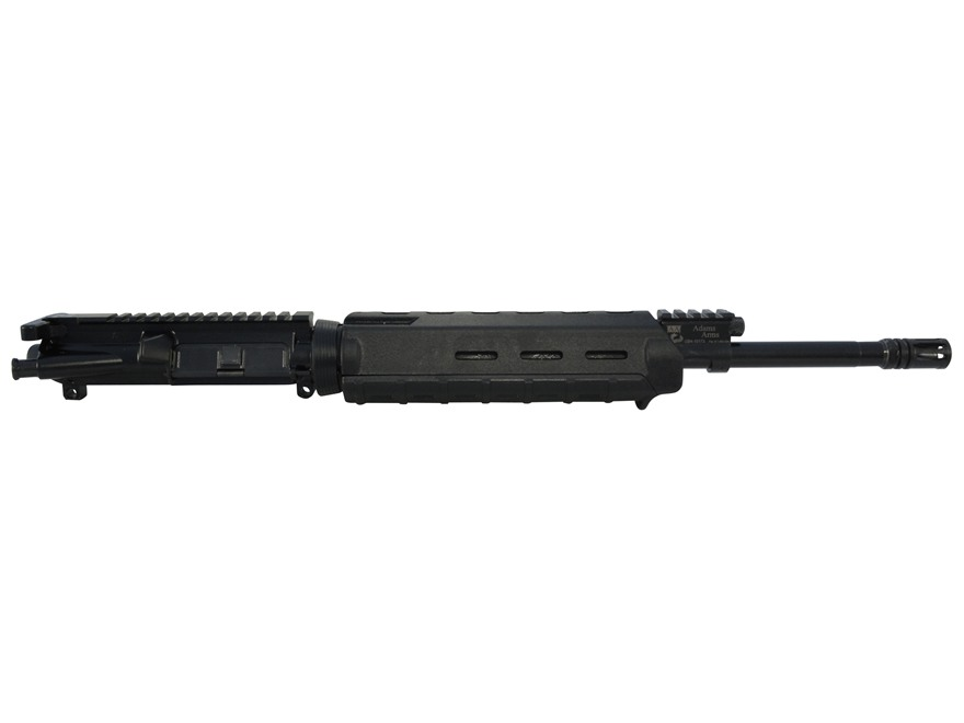 "Adams Arms AR-15 Base MOE A3 Gas Piston Upper Receiver Assembly 5.56x45mm NATO 16"" Barrel"