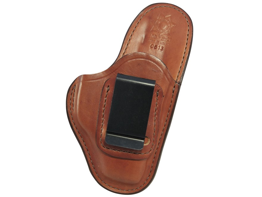 Bianchi 100 Professional Inside the Waistband Holster Ruger LC9 Leather Tan