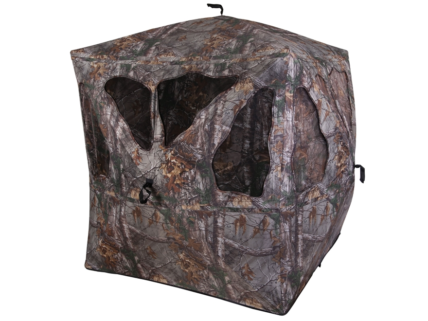 "Ameristep Spirit Ground Blind 75"" x 75"" x 67"" Polyester Realtree Xtra Camo"