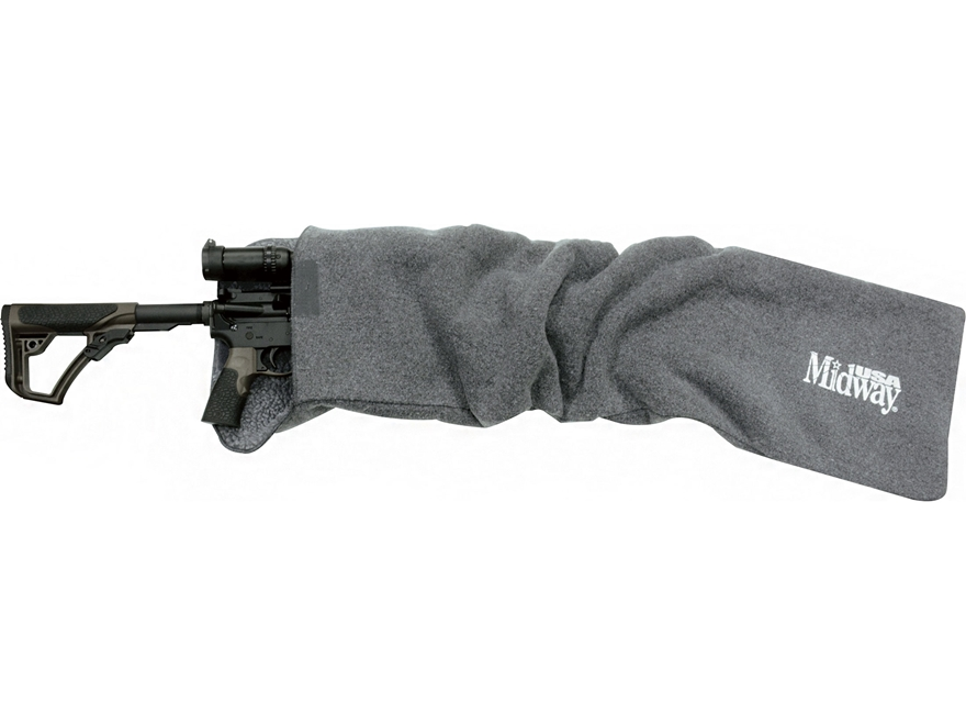 """MidwayUSA Silicone-Treated AR-15 or Riot Shotgun Gun Case 42"""" Dark Gray"""