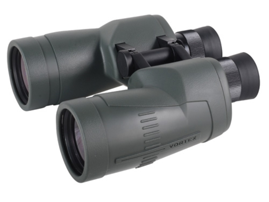 Vortex Optics Hurricane Binocular 7x 50mm Porro Prism Rubber Armored Green