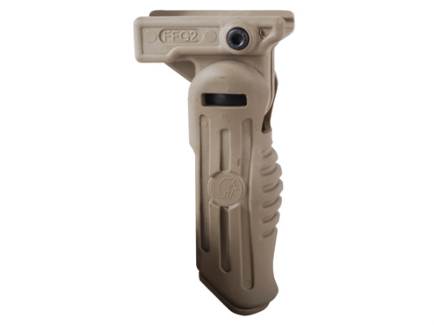 Commands Arms FVG 3-Position Folding Vertical Forend Grip with Battery Storage Compartm...