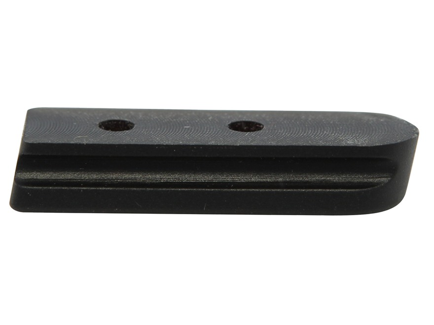 Glend Arms Tactical Edge Magazine Base Pad 1911 Rubber Black Pack of 3