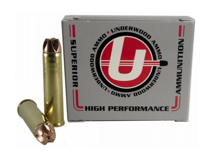 Underwood Ammunition 460 S&W Magnum 250 Grain Lehigh Xtreme Penetrator Lead-Free Box of 20