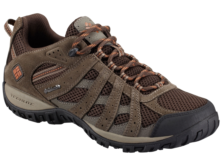 """Columbia Redmond Low 4"""" Waterproof Hiking Shoes Leather/Synthetic Men's"""