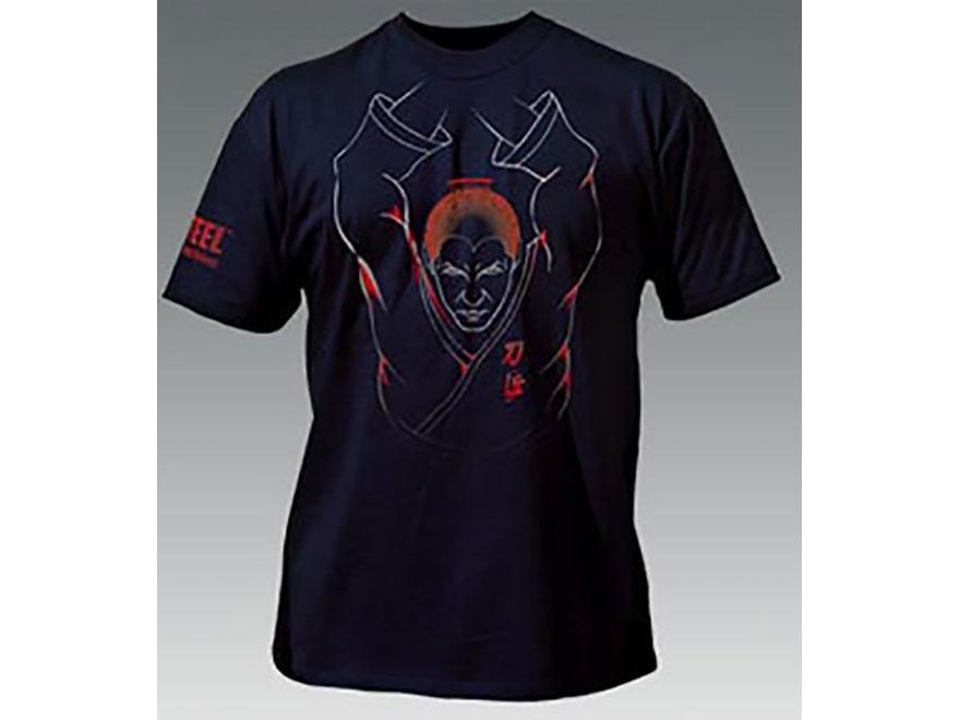 Cold Steel Samurai T-Shirt Short Sleeve Cotton Black