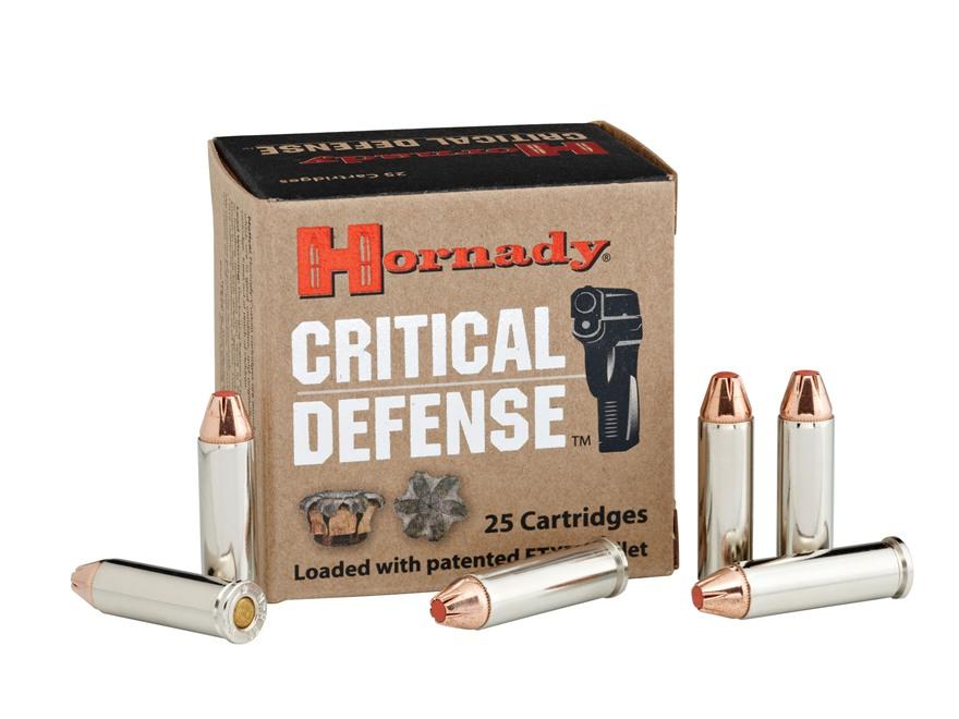 Hornady Critical Defense Ammunition 32 H&R Magnum 80 Grain Flex Tip eXpanding Box of 25