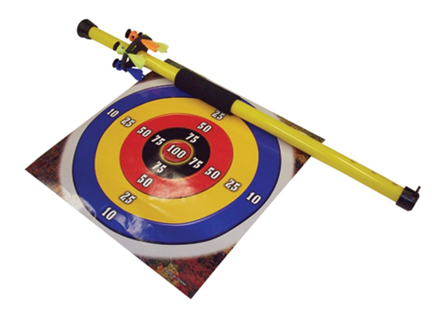 Arrow Precision Hornet Toy Blowgun Polymer Yellow