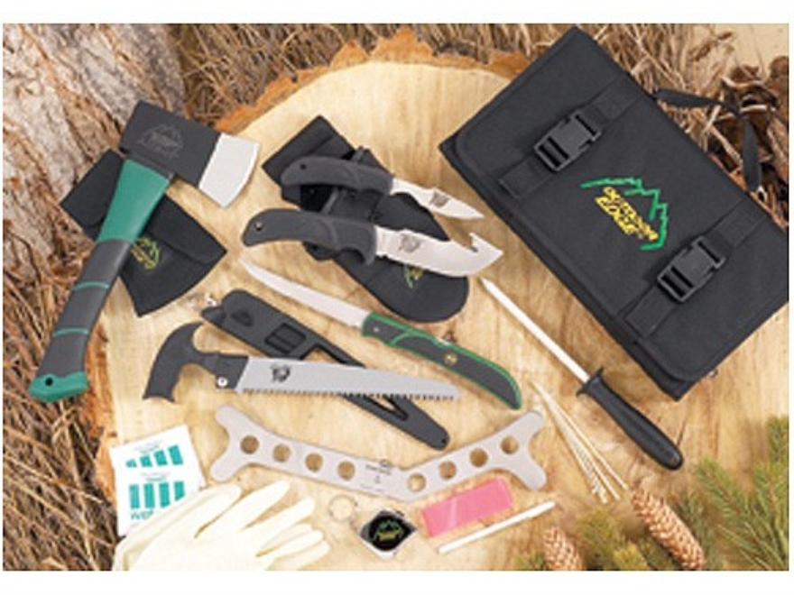 Outdoor Edge OutPak Big Game Hunting Knife Set