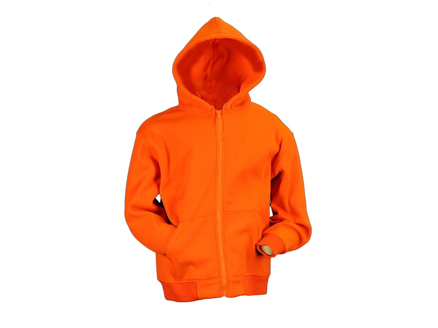Gamehide Men's Deer Camp Full Zip Hooded Sweatshirt Fleece