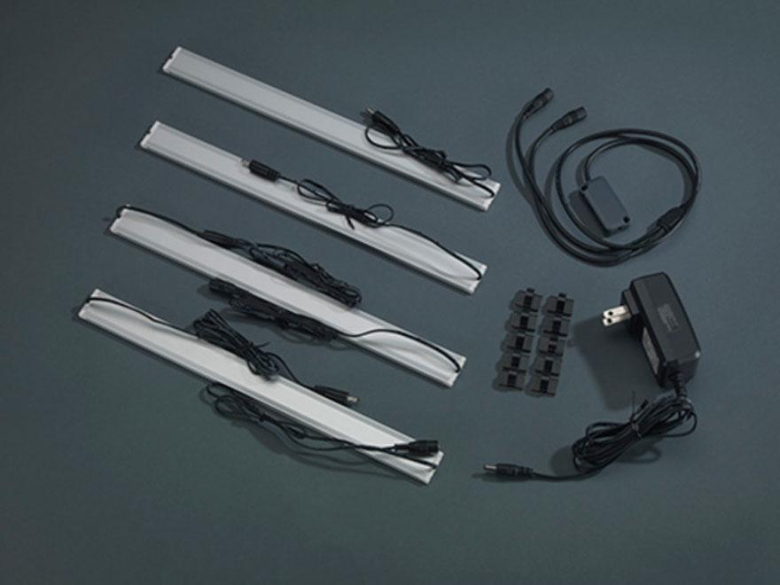 Stack-On LED Light Kit with 4 LED Light Strips