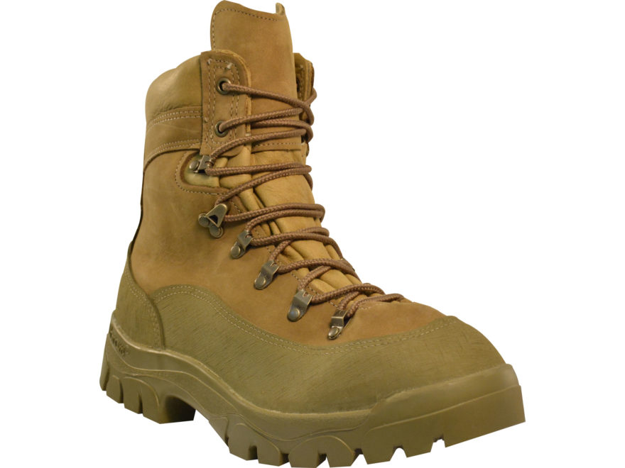 Military Surplus Afghan Theater Intermediate Weather Combat Boot Green/Tan