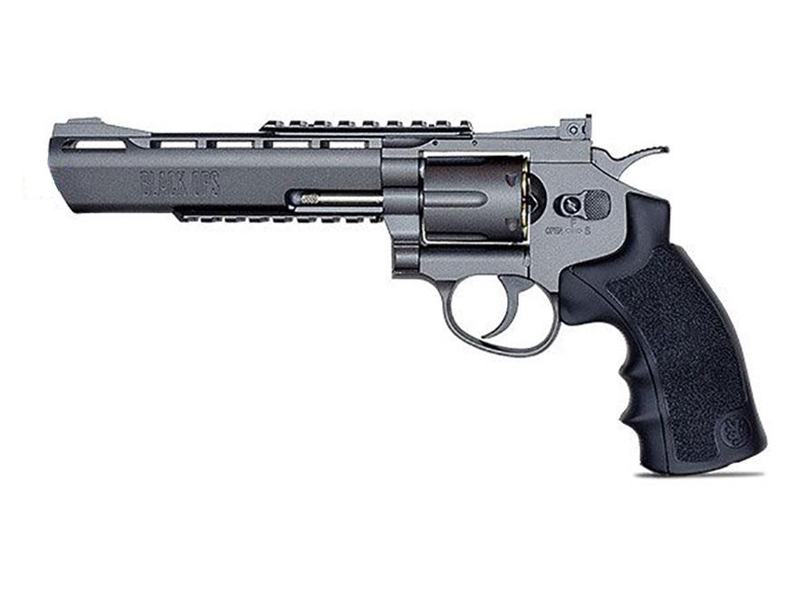 """Black Ops Exterminator Revolver 6"""" Barrel Air Pistol 177 Caliber BB"""
