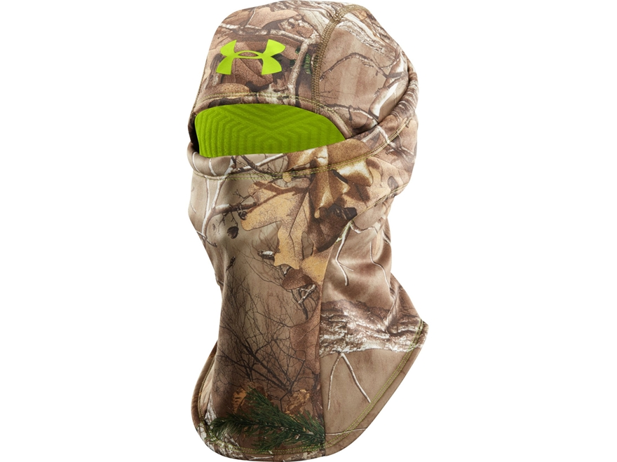 Under Armour UA ColdGear Infrared Scent Control Balaclava Polyester Realtree Xtra Camo