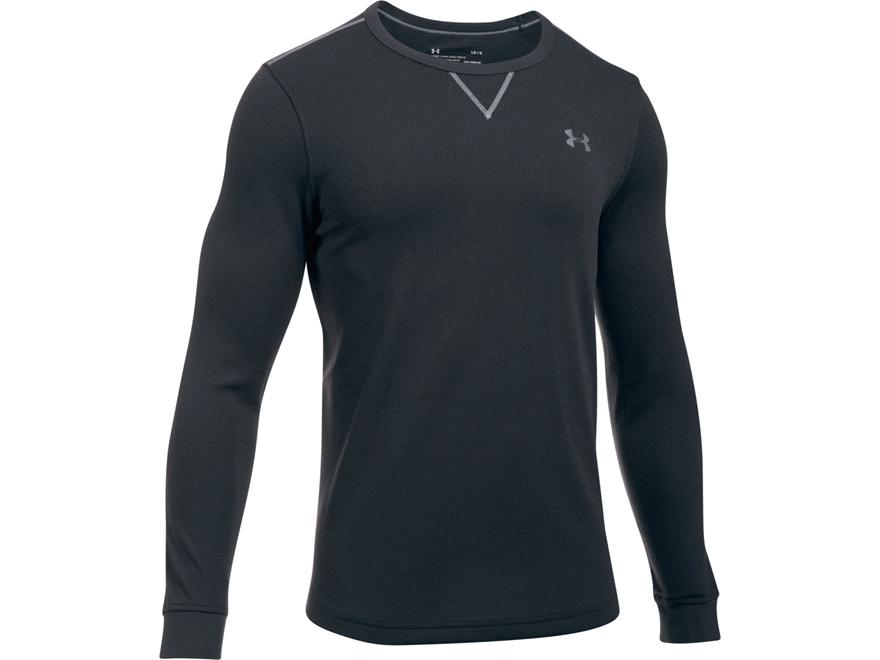 Under Armour Men's UA Lightweight Waffle Crew Shirt Long Sleeve Polyester/Cotton