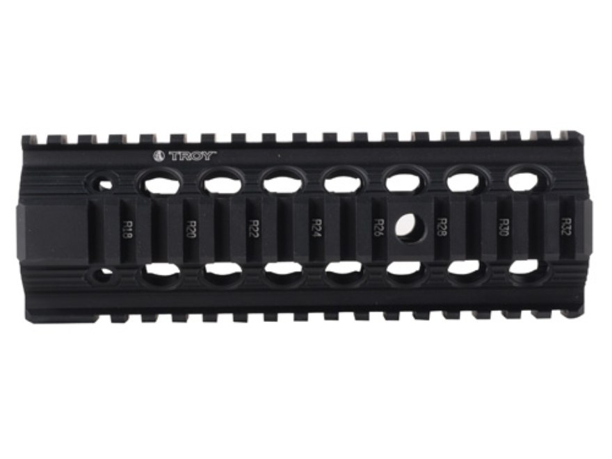 Troy Industries Bravo Battle Rail Free Float Quad Rail Handguard AR-15