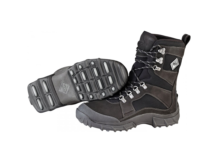 "Muck Peak Essential 9"" Insulated Hiking Boots Leather and Nylon"