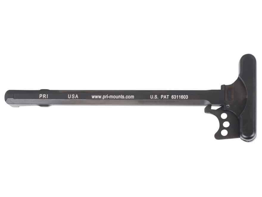 PRI Gas Buster Charging Handle Assembly with Flat Latch AR-15 Aluminum Matte