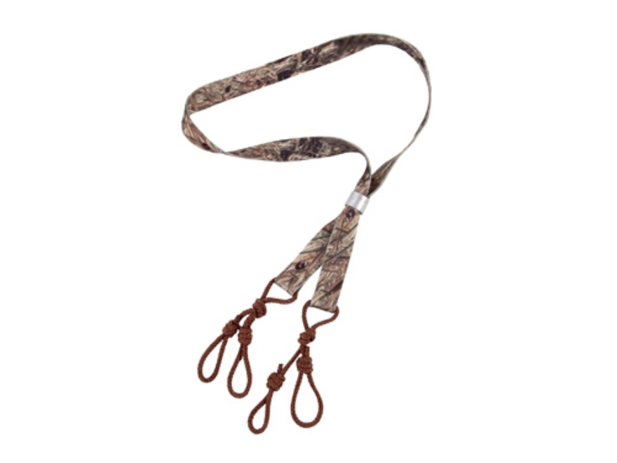 Flextone 4 Loop Game Call Lanyard Nylon Mossy Oak Duck Blind Camo