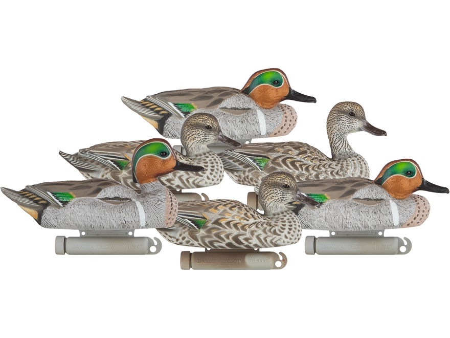 Dakota Decoy X-Treme Floater Green Wing Teal Duck Decoy
