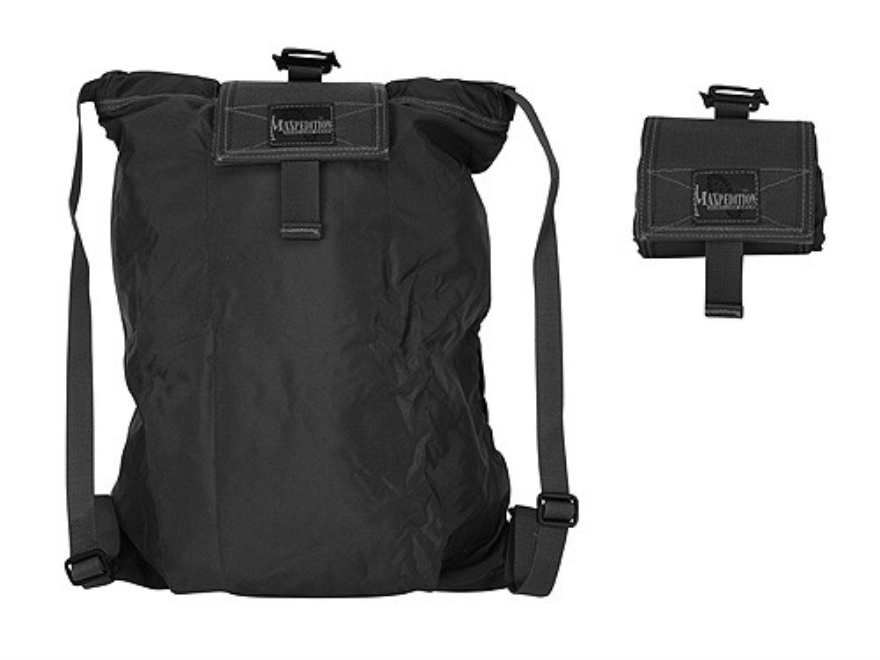Maxpedition Rollypoly Collapsible Backpack Nylon Black