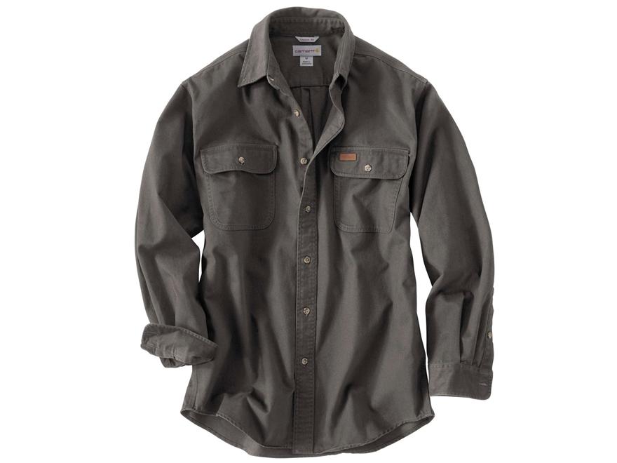 Carhartt Men's Oakman Work Shirt Long Sleeve Cotton
