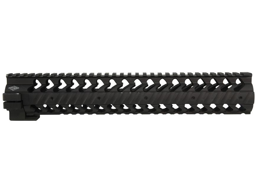 Yankee Hill Machine SLR Smooth Free Float Tube Modular Rail Handguard AR-15 Rifle Lengt...