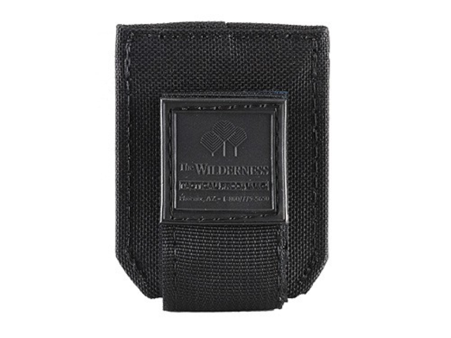 Wilderness Tactical Magazine Pouch Single Stack Pistol Nylon Black