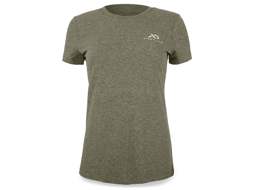 First Lite Women's Logo T-Shirt Short Sleeve Cotton