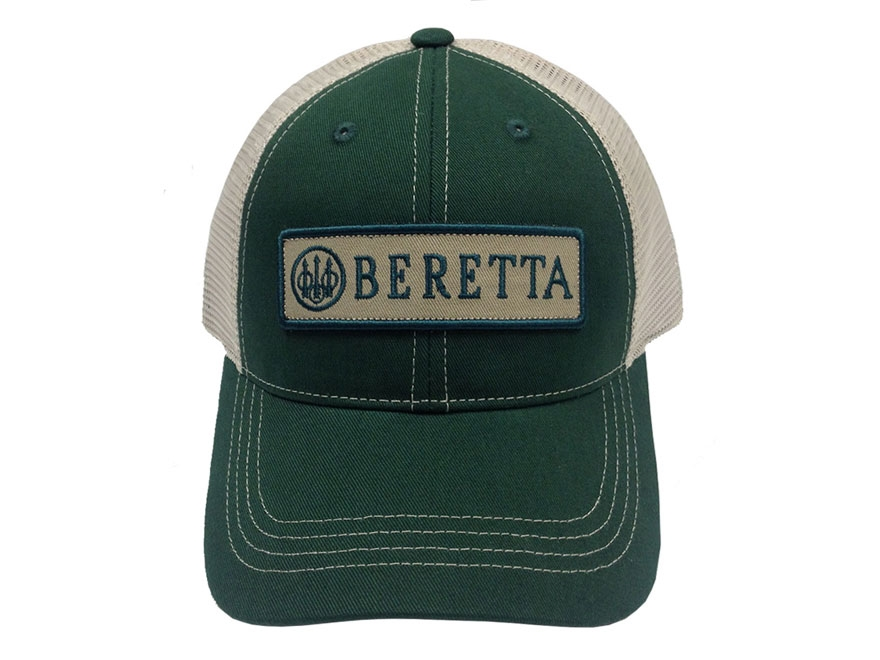 Beretta Men's Patch Logo Trucker Hat Polyester/Nylon