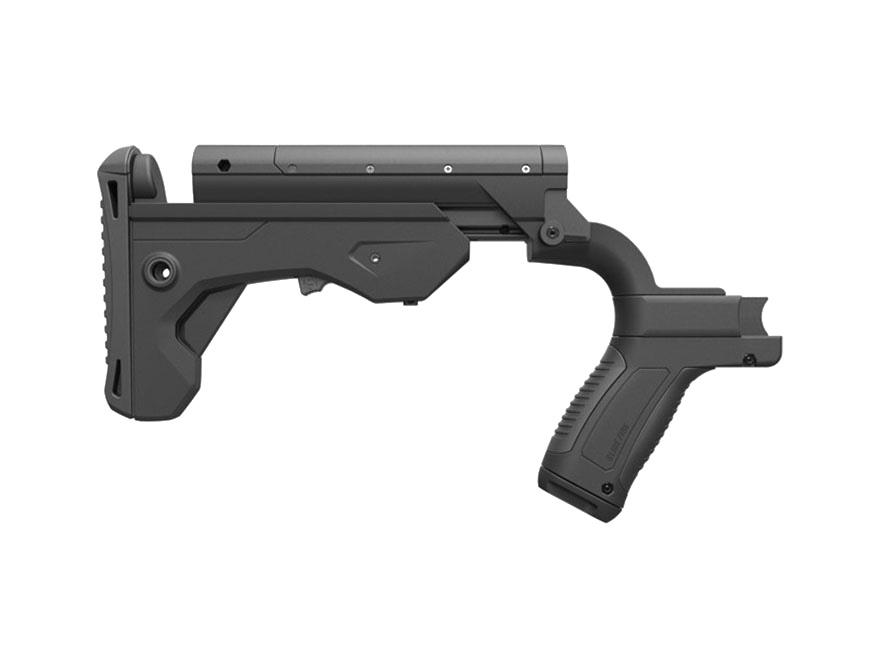 Slide Fire SSAR-15 MOD Bump Fire Stock AR-15 Mil-Spec Diameter Ambidextrous Polymer Black