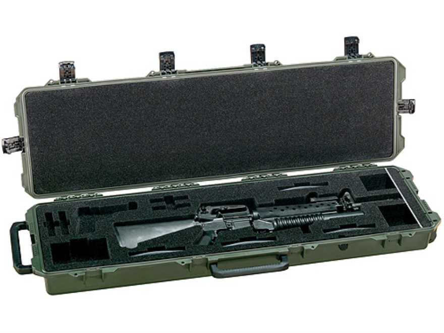 "Pelican Storm Single M16 or M4 iM3300 Rifle Case with Pre-Scored Foam Insert 53-4/5"" x ..."