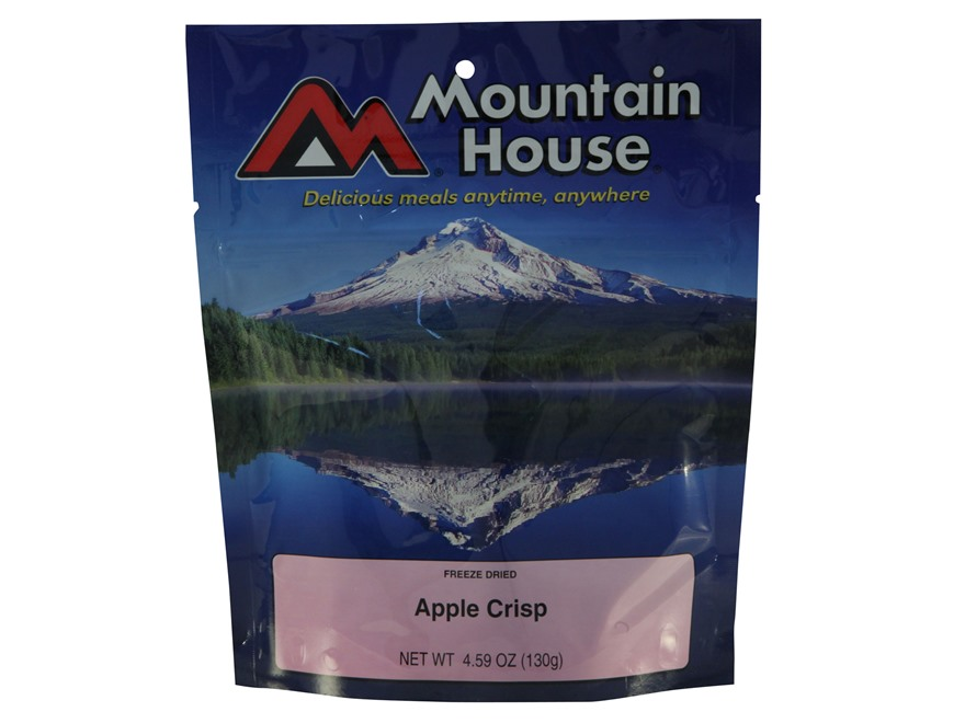Mountain House Apple Crisps Freeze Dried Food 4 Servings