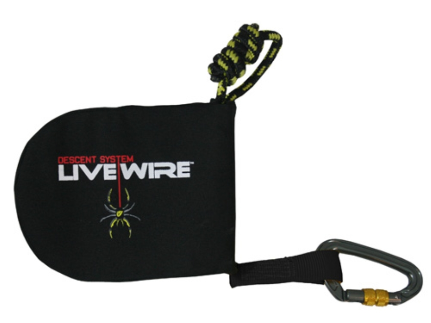 Tree Spider Livewire Treestand Safety Harness Descent System 115-200 lb