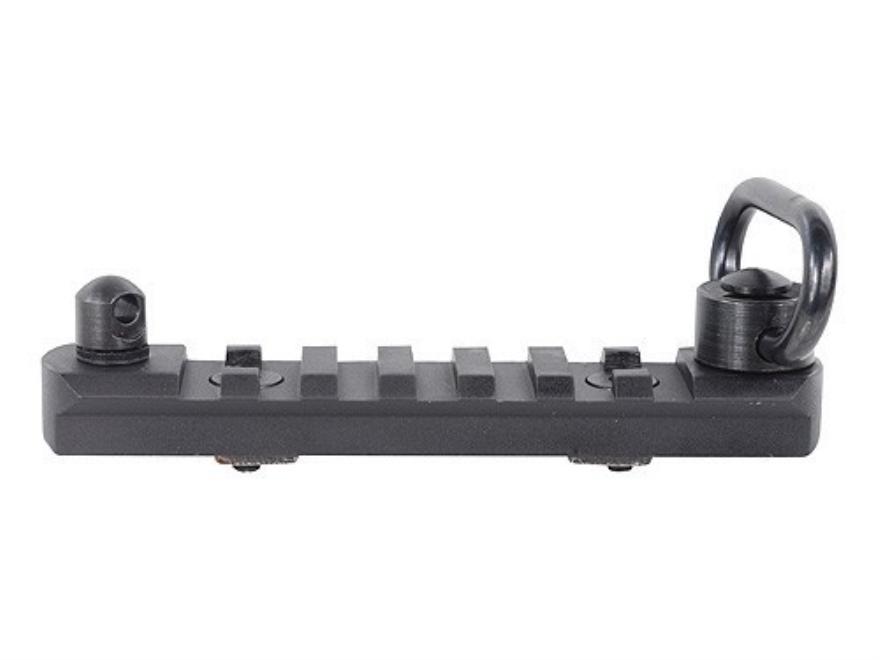 "PRI Picatinny Rail 4"" Length with QD Sling Swivel Fits PRI Gen III Free Float Handguard..."