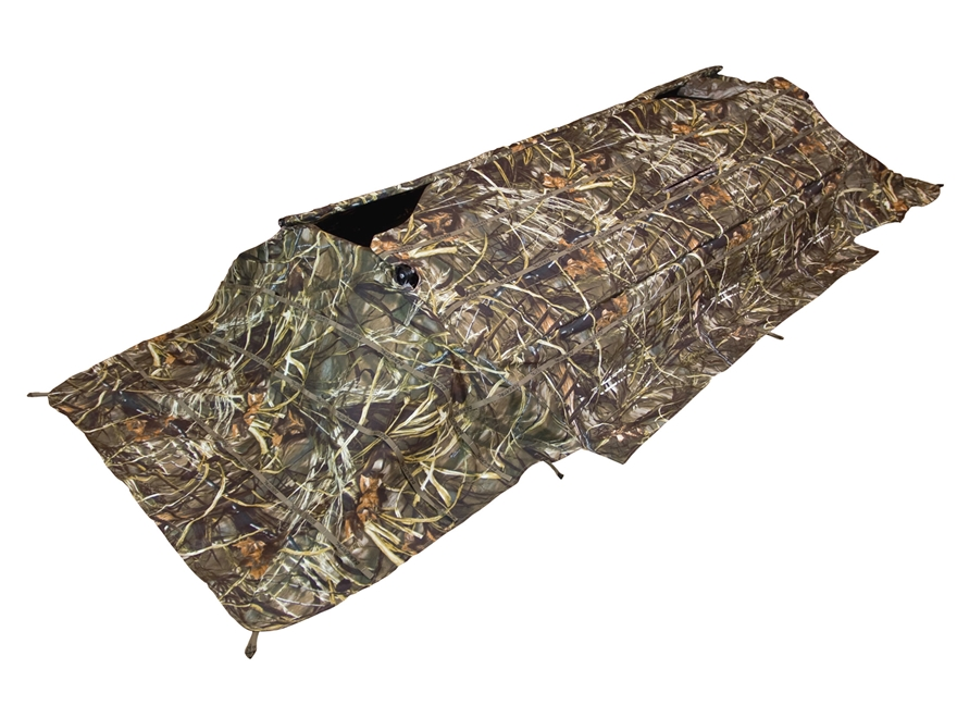 Beavertail Predator XCS Field Blind Cover Polyester Realtree Max-4 Camo