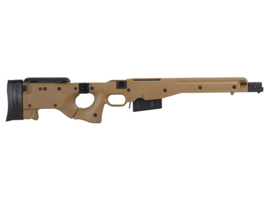 Accuracy International Chassis System (AICS) 2.0 Folding Stock Remington 700 Long Actio...