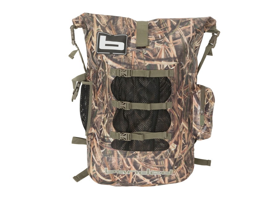 Banded Arc Welded Waterproof Backpack Polyester