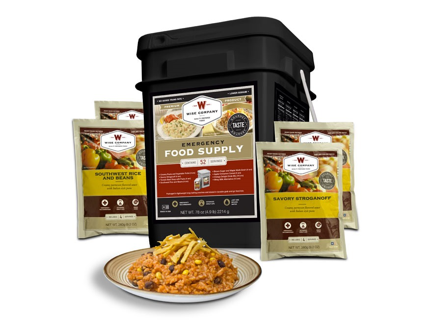 Wise Food 52 Serving Prepper Pack Freeze Dried Food