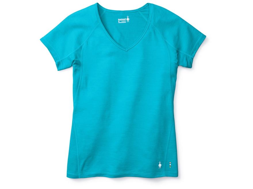 Smartwool Women's PhD Ultra Light T-Shirt Short Sleeve Merino Wool/Polyester