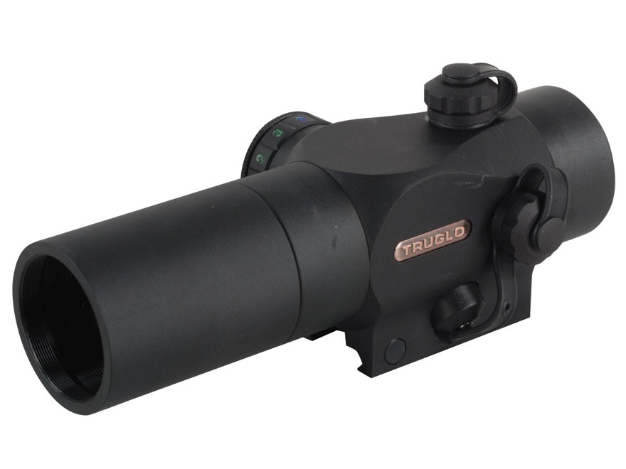 TRUGLO Triton Tactical Red Dot Sight 3 MOA Circle Dot Red, Green and Blue with Pressure...