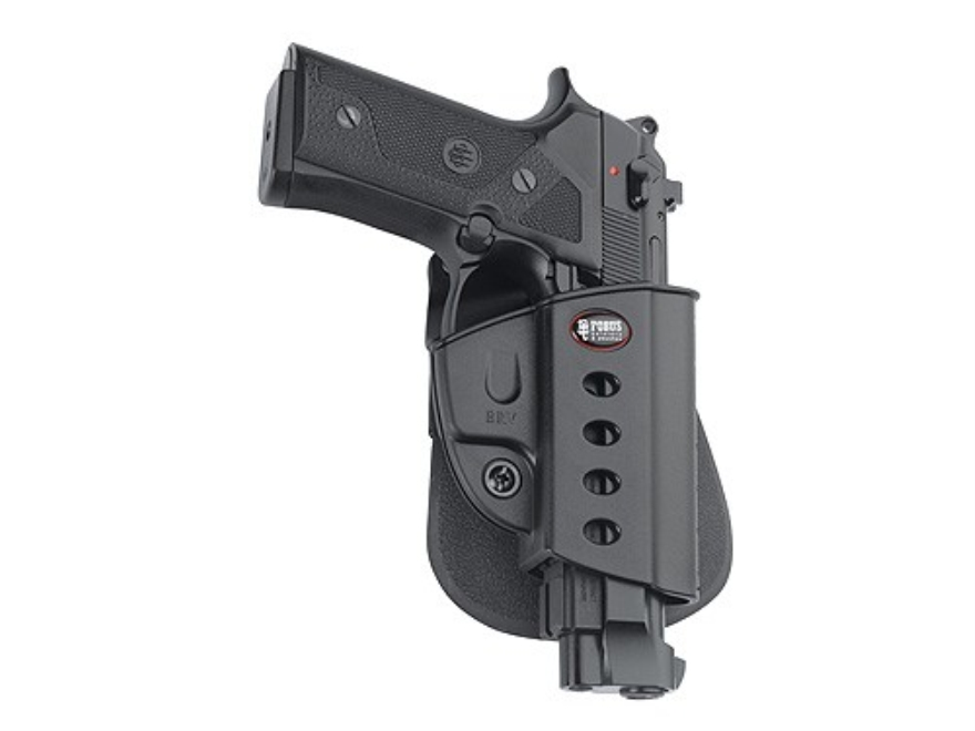 Fobus Evolution Roto Paddle Holster Right Hand Beretta Vertec, Taurus 92, 99 with Rail ...