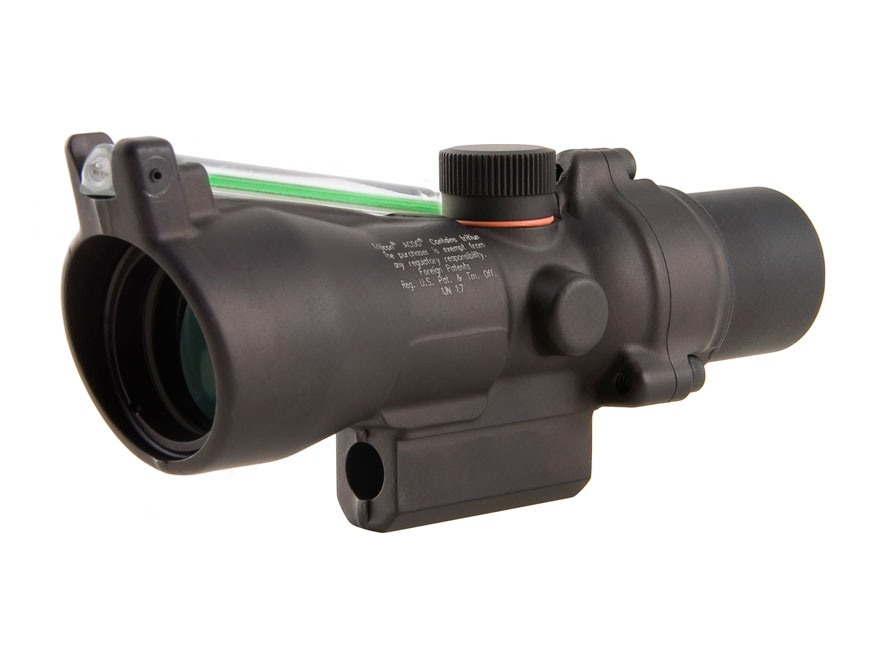 Trijicon ACOG TA50G-XB Crossbow Scope 3x 24mm Dual-Illuminated Green Chevron 300-340 FP...