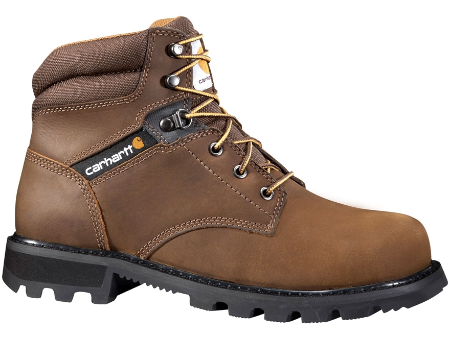 "Carhartt 6"" Steel Toe Work Boots Leather Men's"