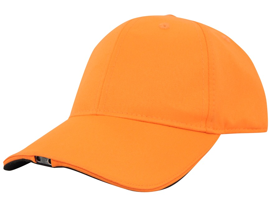HiBeam Hands-Free Lighted Cap Cotton Blaze Orange
