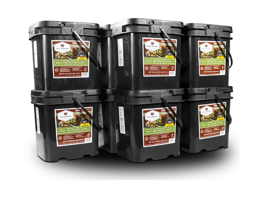 Wise Food 600 Serving Meat Freeze Dried Food Kit