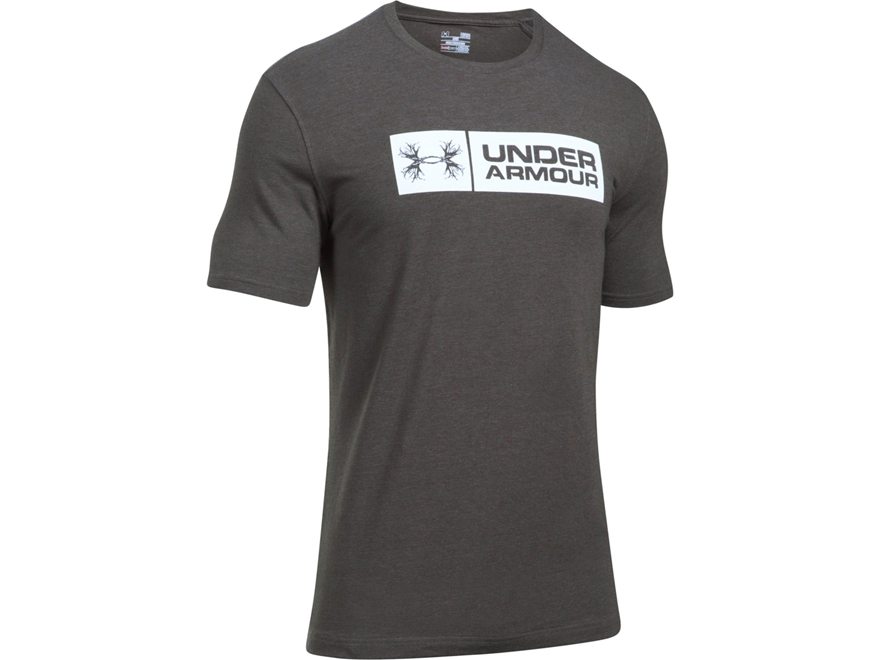 Under Armour Men's UA Antler Tag T-Shirt Short Sleeve Charged Cotton