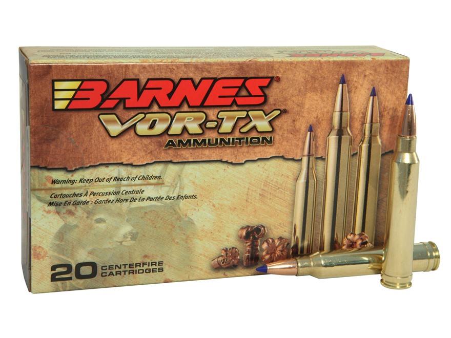 Barnes VOR-TX Ammunition 300 Winchester Magnum 180 Grain Tipped Triple-Shock X Bullet B...