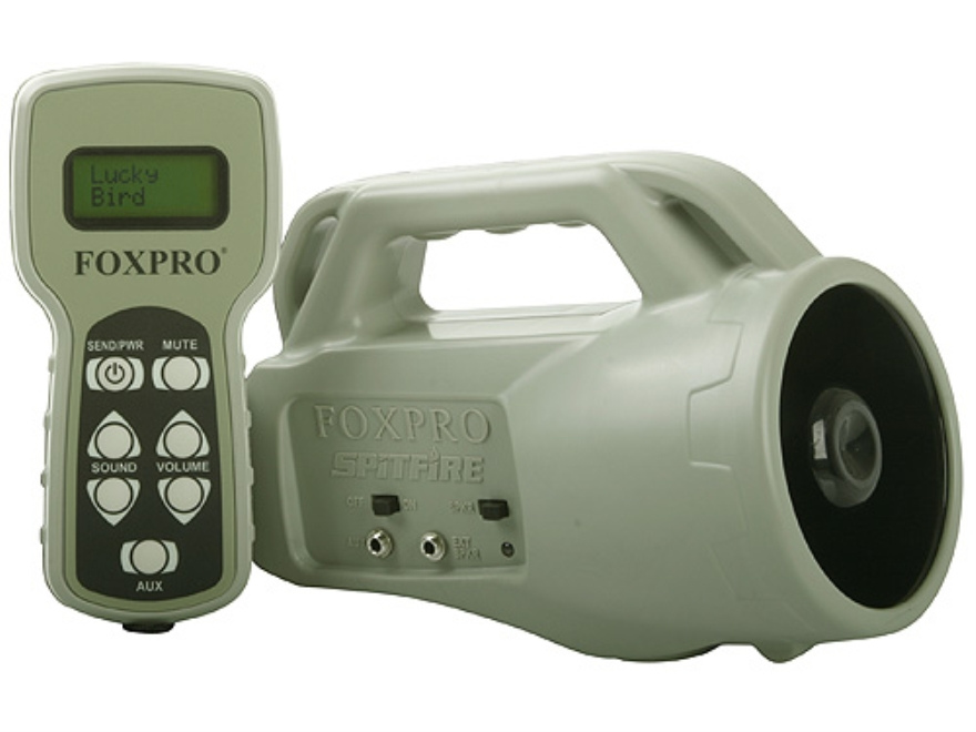 FoxPro Spitfire Electronic Predator Call with 24 Digital Sounds Green